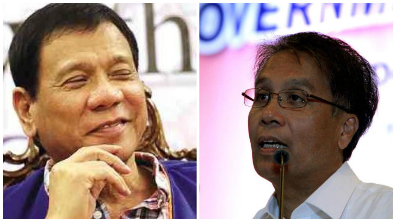 Duterte Calls Roxas Bayot, Loser