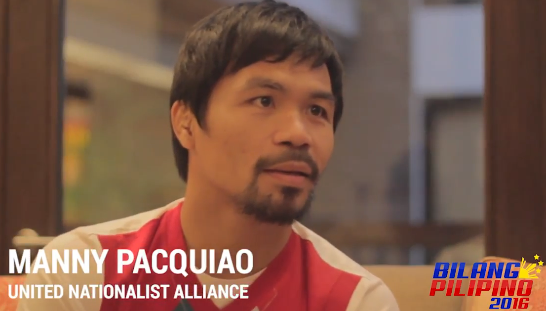 Manny Pacquiao Calls Homosexuals Worse Than Animals