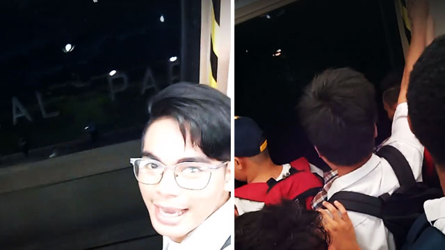 Student Records 'Crazy LRT Experience' With Train Doors Wide Open