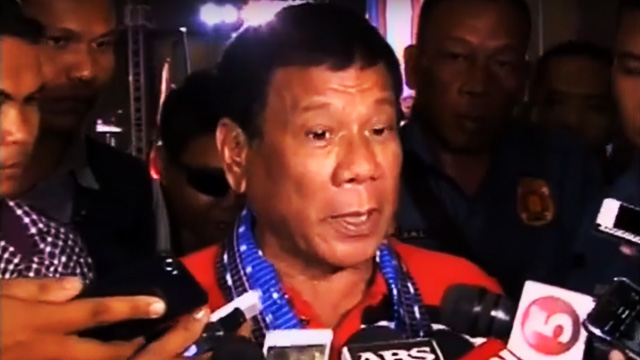 Duterte Goes Beastmode Vs. North Cotabato Governor