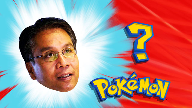 So Apparently, Mar Roxas Is A Pokémon Fan