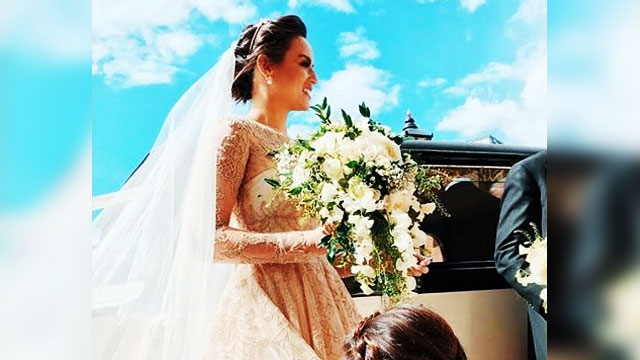 Georgina Wilson Gets Hitched In The UK