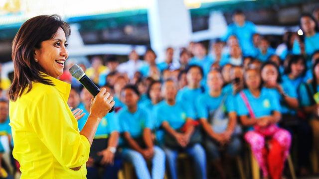 Leni Vows Full Support For Duterte
