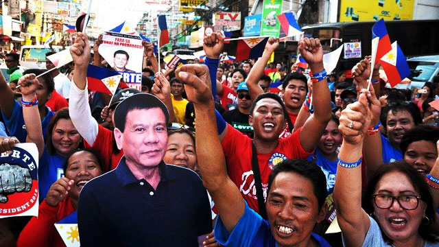 We're All Invited To Duterte's Victory Party