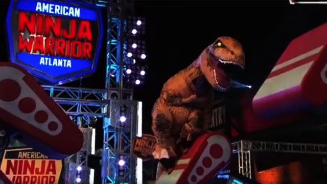 Guess How A 65 Million Year Old Dinosaur Fared At The American Ninja Warrior Course