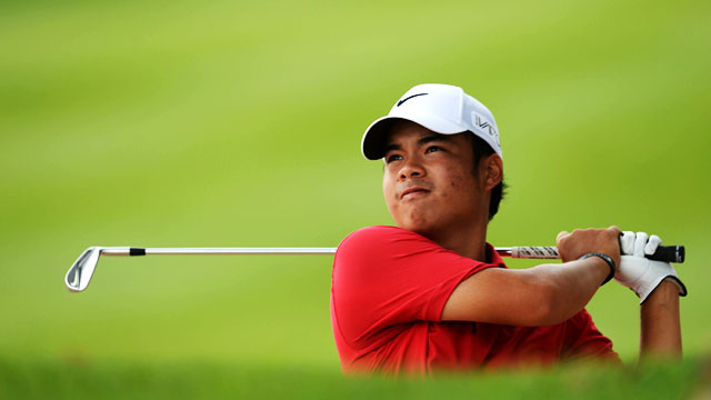 Pinoy Pride Alert: Miguel Tabuena Shows Off Swing In US Open Debut