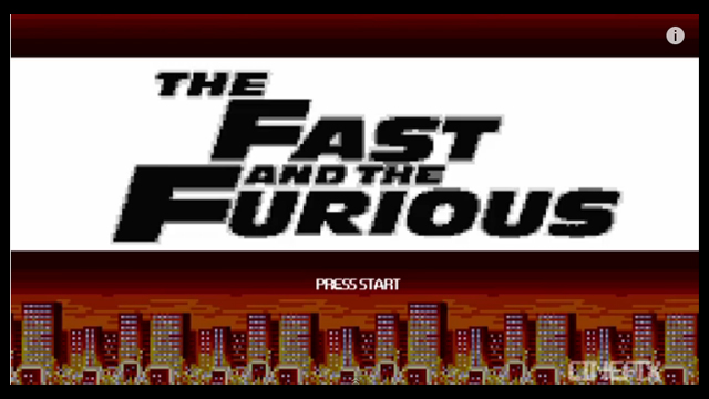 The 8-Bit Version Of The Fast And The Furious Is Fun To Watch (And Play, Most Probably)