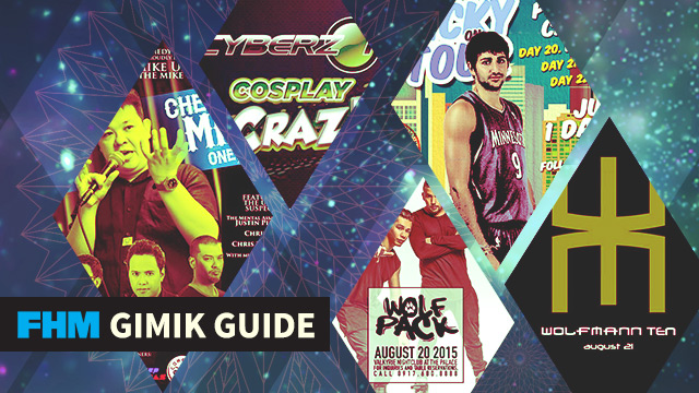 FHM Gimik Guide: Ricky Rubio In Manila, A Rock Show For A Cause, And A Cosplayer's Utopia