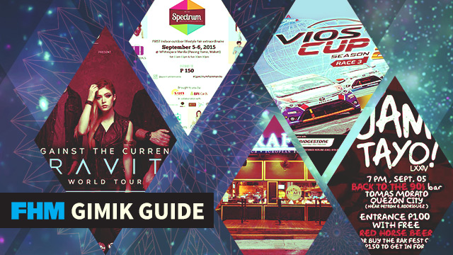 The FHM Gimik Guide: Vios Cup Season 2, Draft's 4th Anniversary Treat, And A Menacing Rock Show!