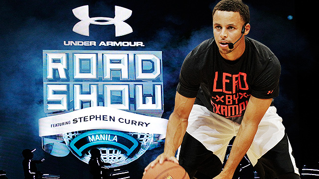 IN PHOTOS: The Sights And Sounds Of Stephen Curry's Manila Visit