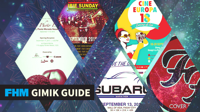 The FHM Gimik Guide: A Nude Photo Exhibit, A European Filmfest, And An Epic Rock-Reggae Party!