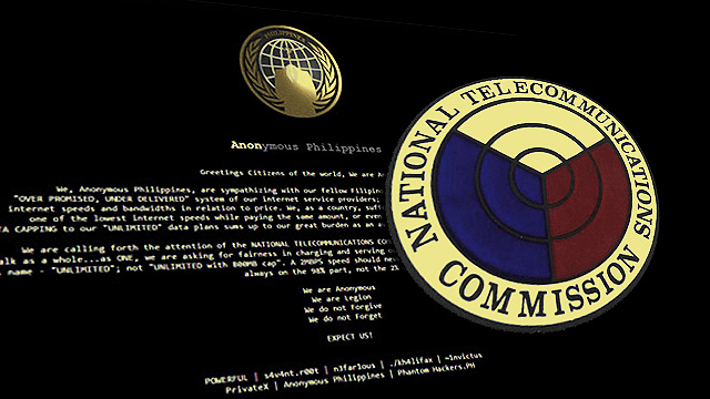 NTC Website Hacked Over Sorry State Of Philippine Internet