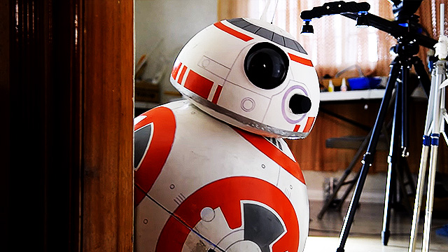 Pinoy Teen Creates Life-Size Working BB-8 Droid