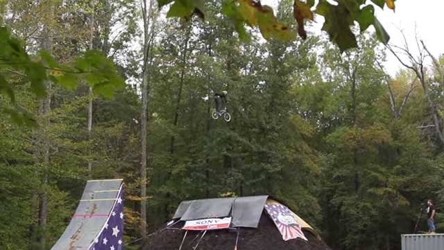 This Might Just Be The Most Insane BMX Bike Stunt Ever
