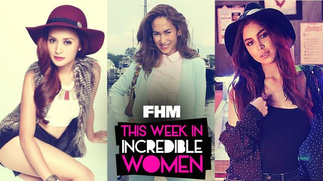 This Week In Incredible Women: Julia Spreads Good Vibes, Ina Takes On A New TV Role, And Camille Gets Ringed