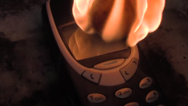 WATCH: Nokia 3310 Vs. Red Hot Nickel Ball