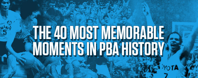 40 Key Moments In PBA History Part III: The Alaska Dynasty, The Triggerman Explodes, And The Mother Of All Reunion Games
