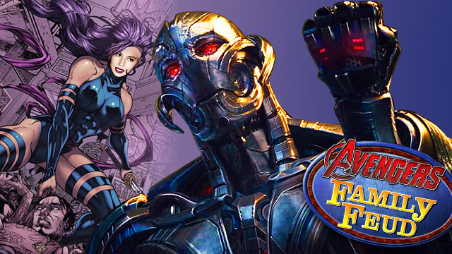 THIS WEEK IN GEEK-GASMIC NEWS: Olivia Munn Is Psylocke, The Avengers Play Family Feud, And The Ultron Boss Battle In The New Age Of Ultron Trailer
