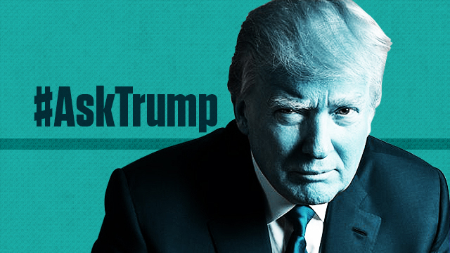 A Twitter Q&A Probably Isn't The Best Campaign Idea, Just #AskTrump