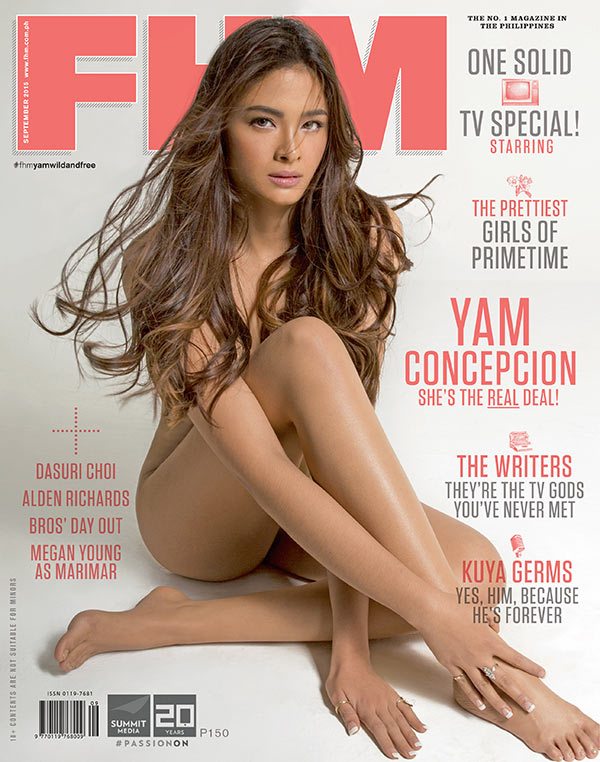 Yam Concepcion Is FHM's September 2015 Cover Girl!