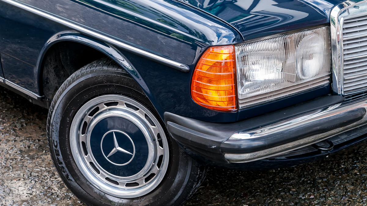 This 1983 Mercedes-Benz 240D will cruise through the end of days