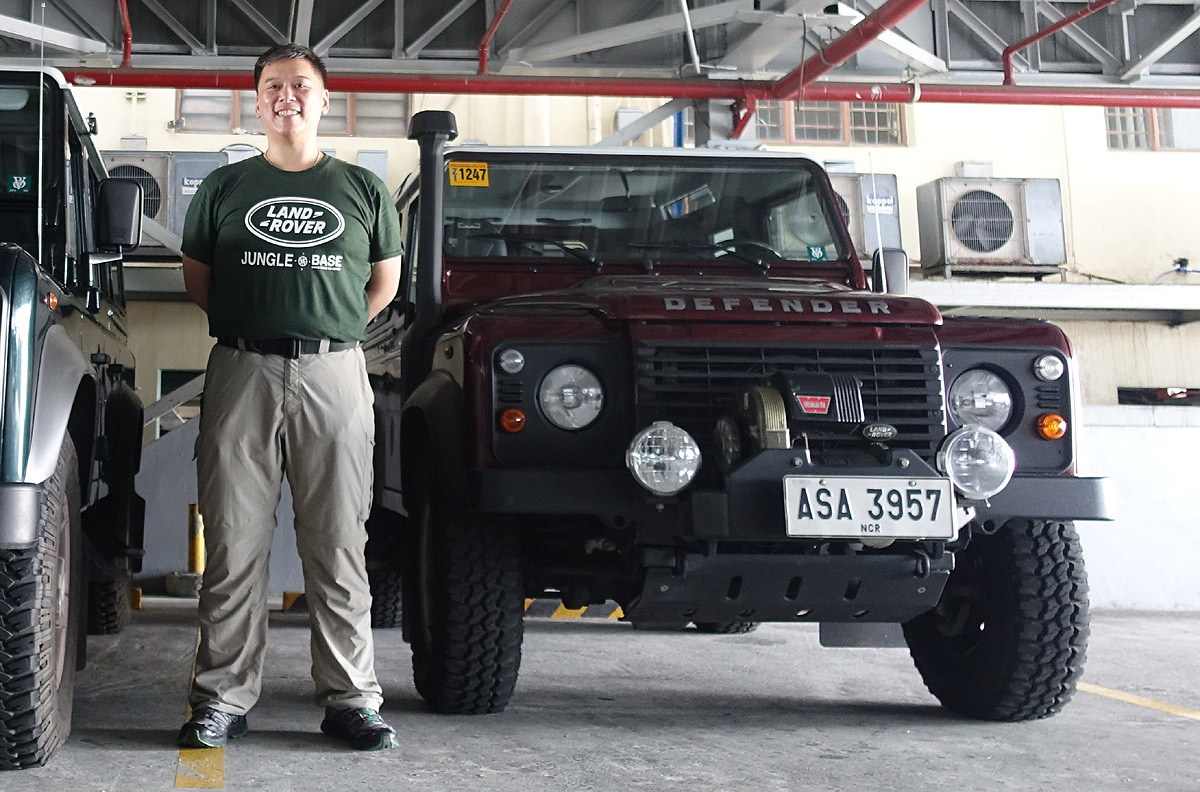 Tale of the Land Rover Defender that stalled on Araneta Avenue