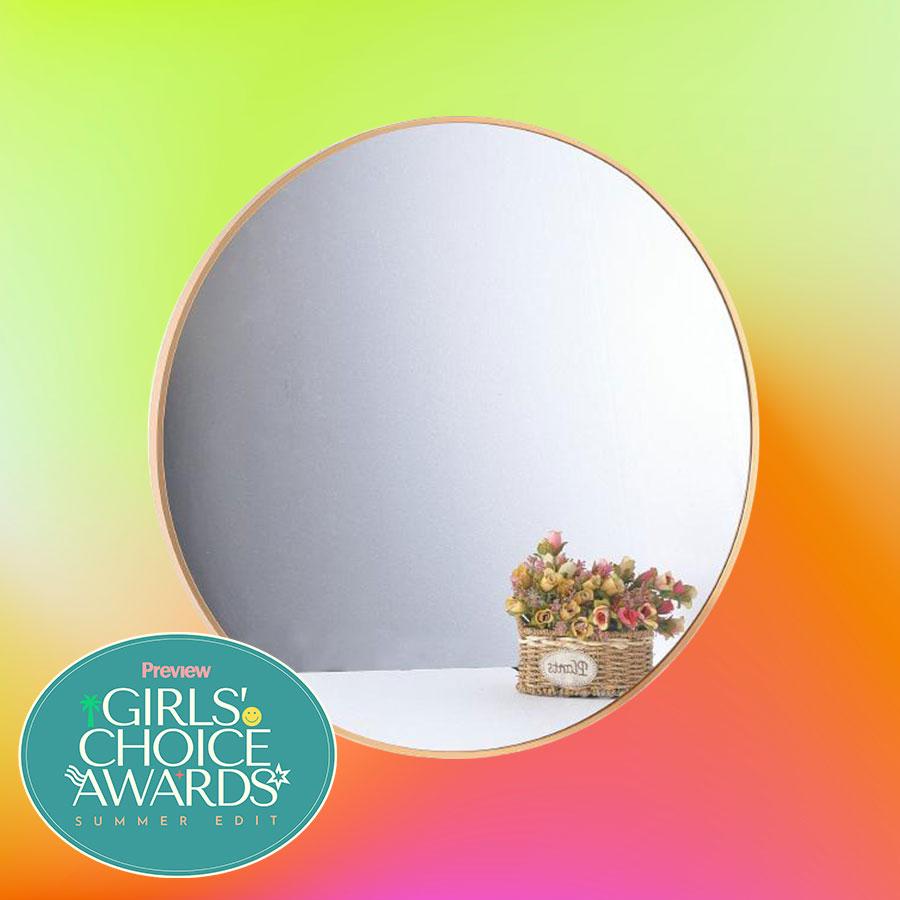 Heim round mirror