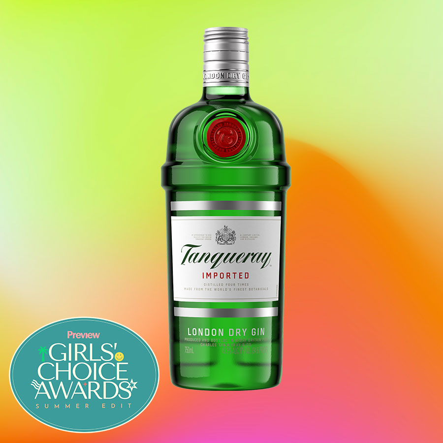 tanqueray dry london gin