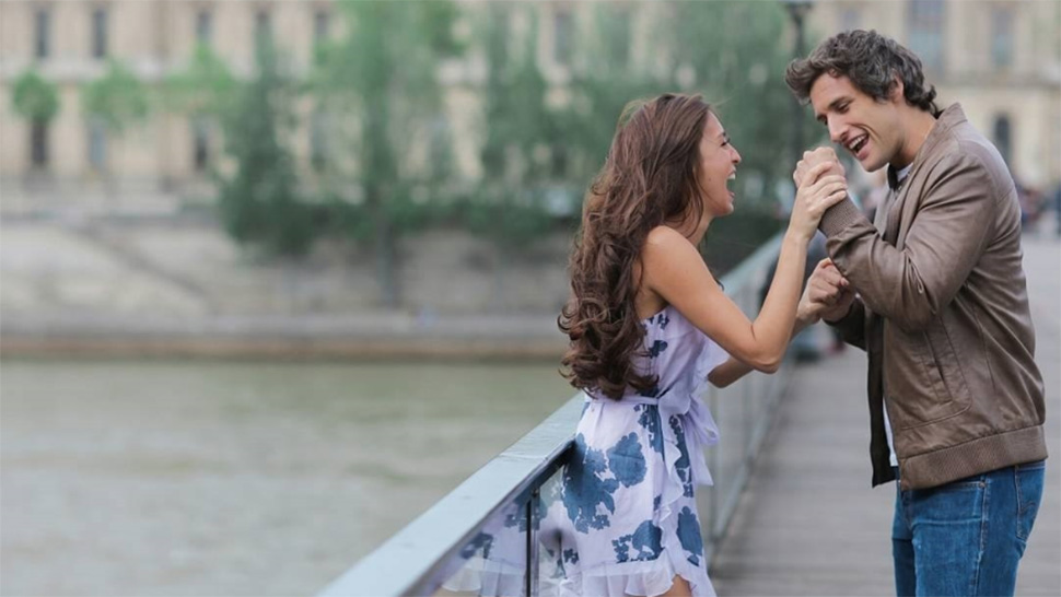 Solenn Heussaff And Nico Bolzico Look Super Cute Strolling The Streets Of Paris