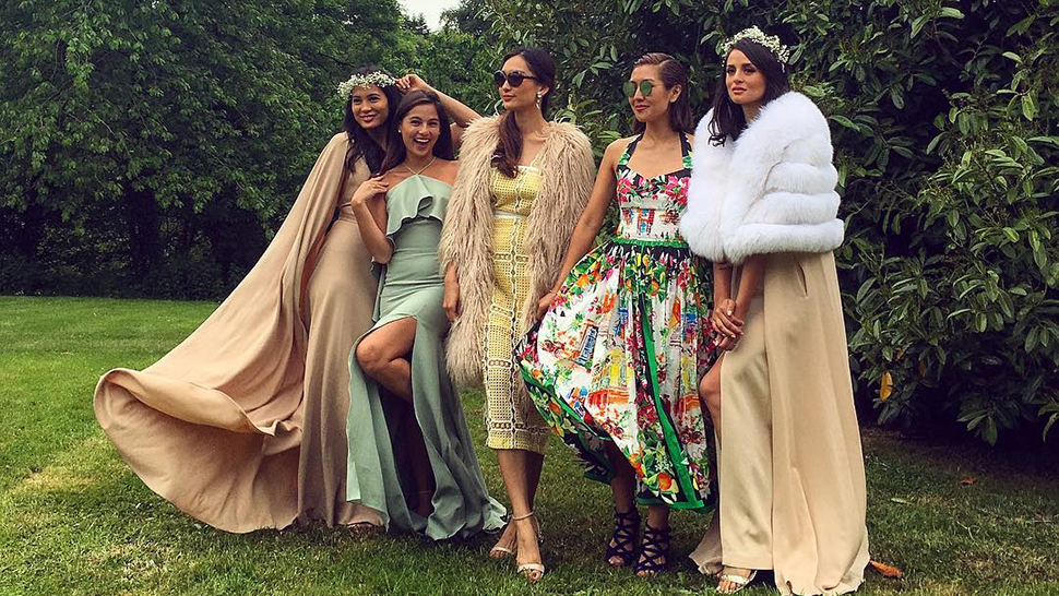 See The Fashion At Solenn Heussaff And Nico Bolzico's Wedding