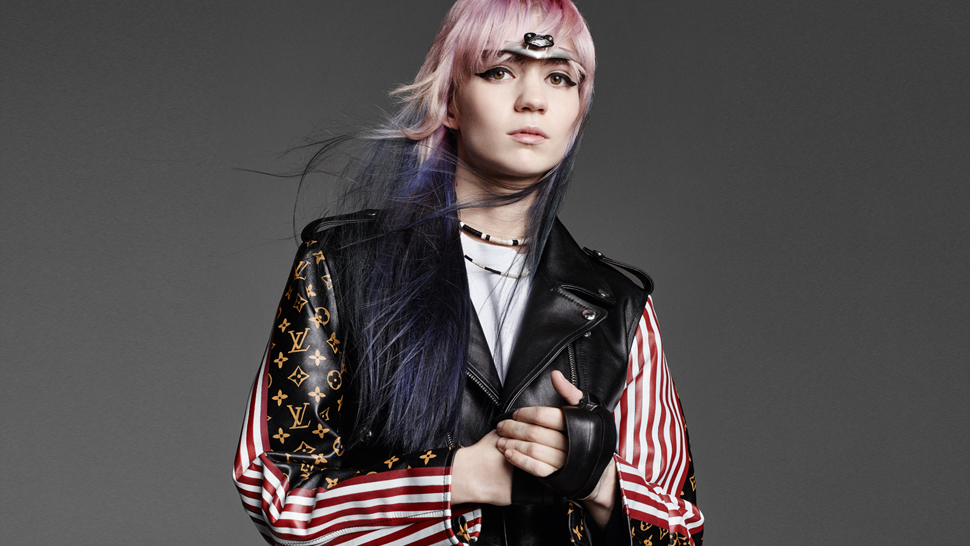 Grimes Talks Louis Vuitton, MySpace, and Evangelion