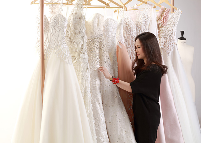 Meet The New Wedding Gown Designer In Town: Hannah Kong | Preview