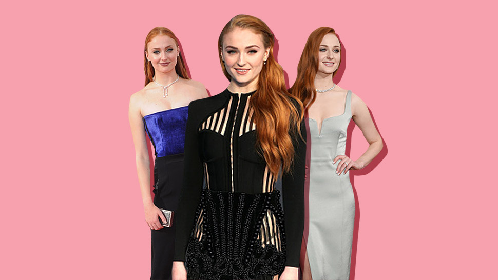 Here's What Sophie Turner Actually Looks Like on the Red Carpet