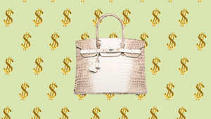 And The Most Expensive Handbag Ever Sold Is…