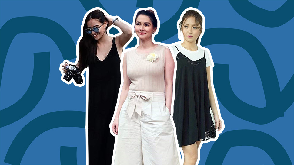 Kathryn Bernardo's Little Black Dress, And More From This Week's Top Celebrity Ootds