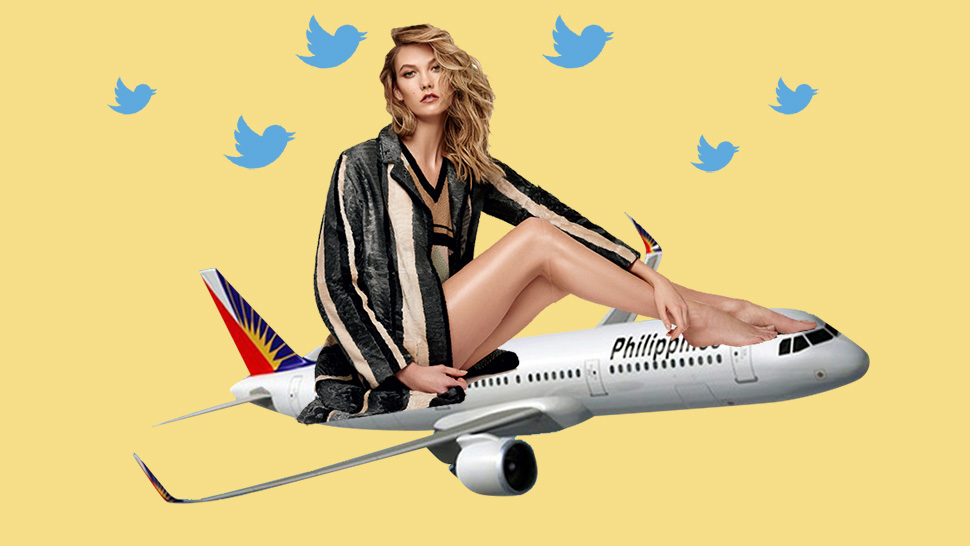 Supermodel Karlie Kloss Tweets Complaint Against Philippine Airlines