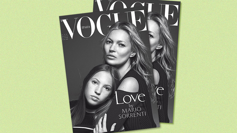 Kate Moss' Teenage Daughter Lands Her First Vogue Cover