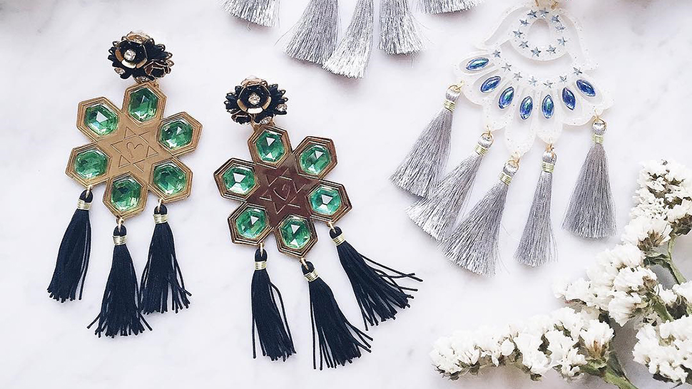 12 Pairs Of Tassel Earrings To Complement Your Shoulder-baring Tops