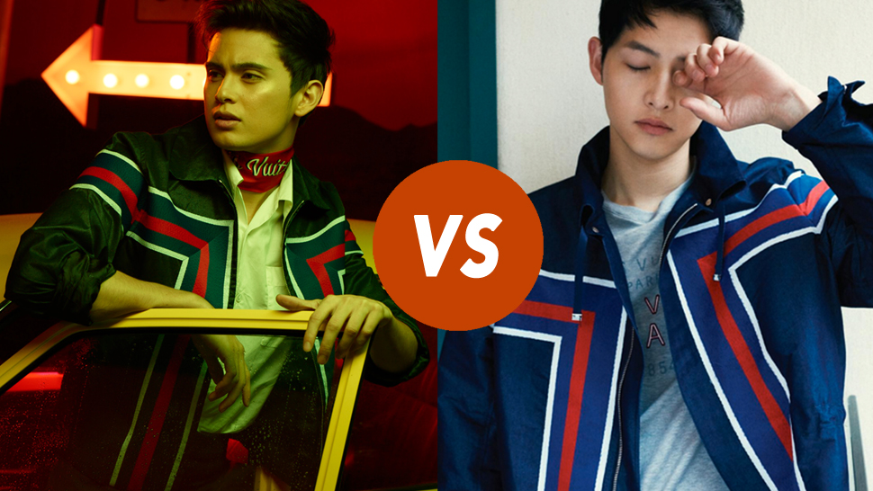 Who Wore It Better: James Reid Or Song Joong Ki?