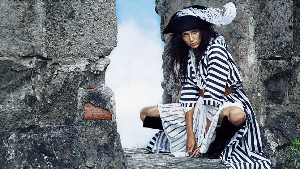 Check Out This Month's Pirate-themed Fashion Editorial
