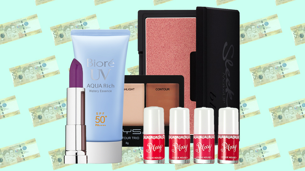 Underrated Beauty Products Under P500