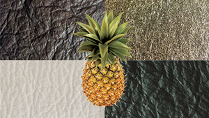 This Leather Is Made From 100% Pineapple