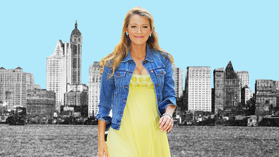 Blake Lively Looks Like a Pregnant Serena Van Der Woodsen in New York City