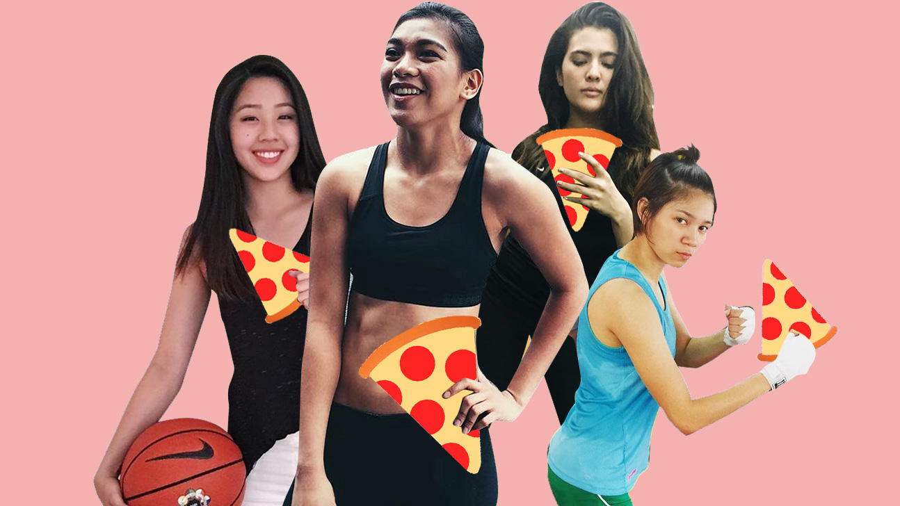 UAAP's Hottest Female Athletes Reveal Their Cheat Day Faves