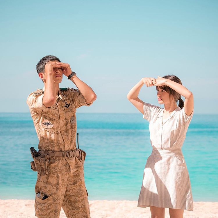 Thanks To Descendants Of The Sun Paradise Has Solidified Its Status As A Must See In Greece Korean And Chinese Tourists Are Reportedly Flocking
