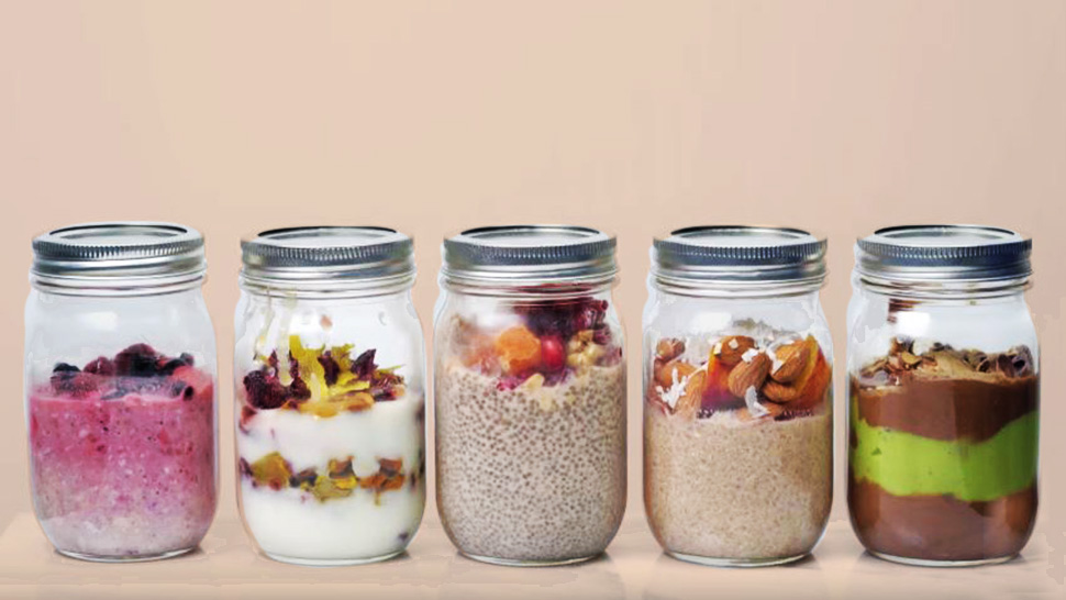 5 Super Easy Mason Jar Recipes You Can Bring to Work