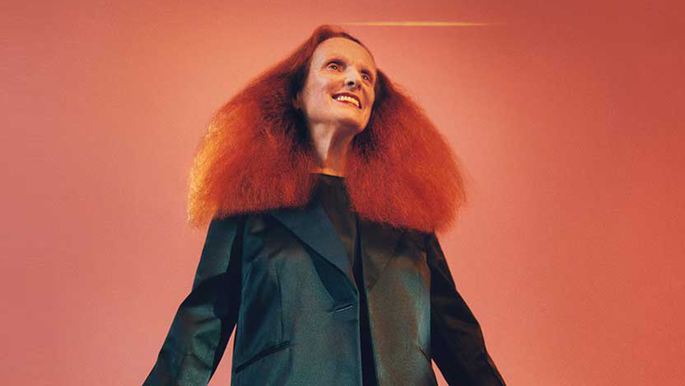 Grace Coddington Jumps Back into Modeling for Calvin Klein's Fall Campaign