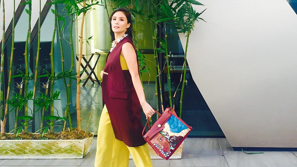 Heart Evangelista Is Having An Exhibit Of Her Painted Hermès Bags