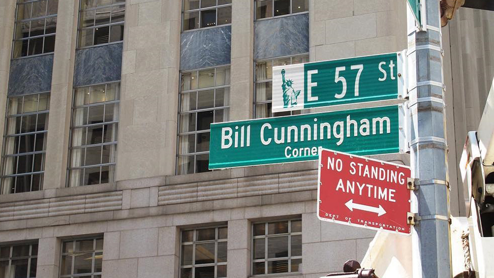 Bill Cunningham Gets A Corner In New York City