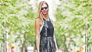 This Is How To Wear Sequins Casually